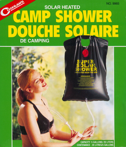 코글란 캠프 샤워/9965/Solar Heated Camp Shower