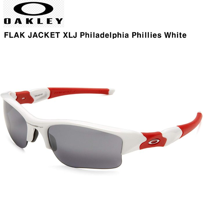 Oakley FLAK JACKET XLJ Philadelphia Phillies White