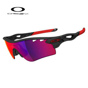 Oakley RADARLOCK PATH Matte Black Ink Positive Red