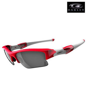 Oakley FLAK JACKET XLJ LA Angels Red Black Iridiu