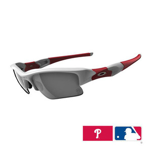 Oakley FLAK JACKET XLJ Philadelphia Phillies White/24012
